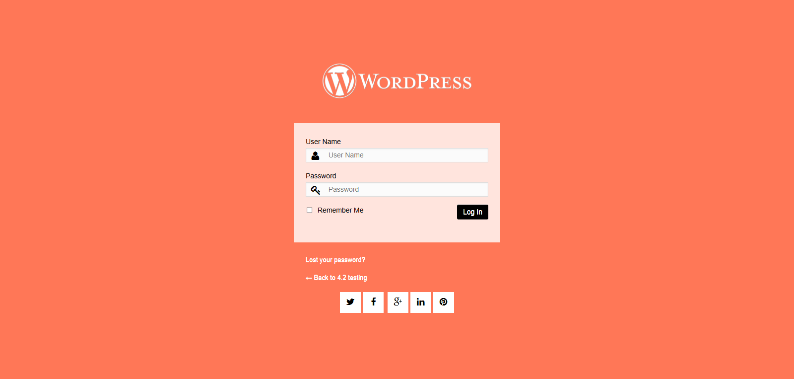 Customize Your WordPress Login Page
