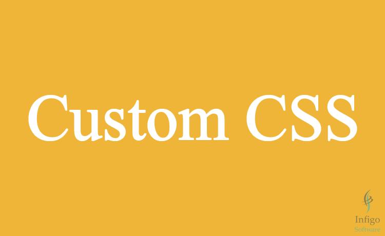 Add custom CSS to WordPress Theme's