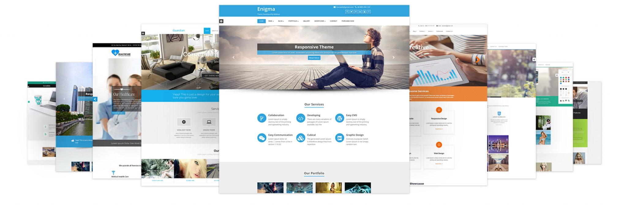 Installing Weblizar WordPress Theme