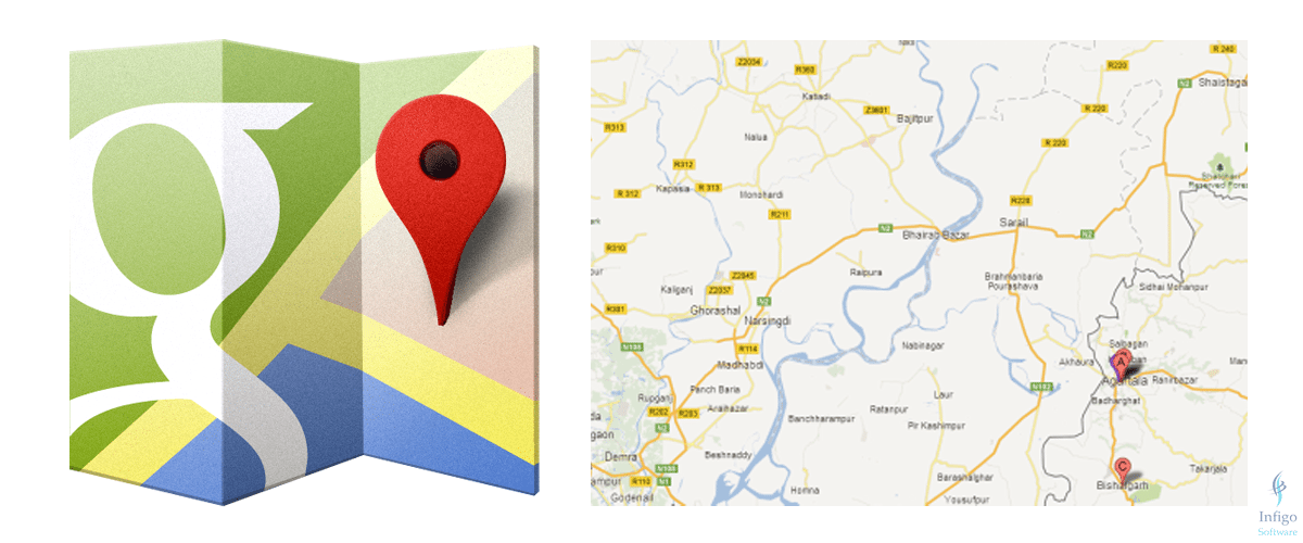 Add Google Map to Weblizar WordPress Theme