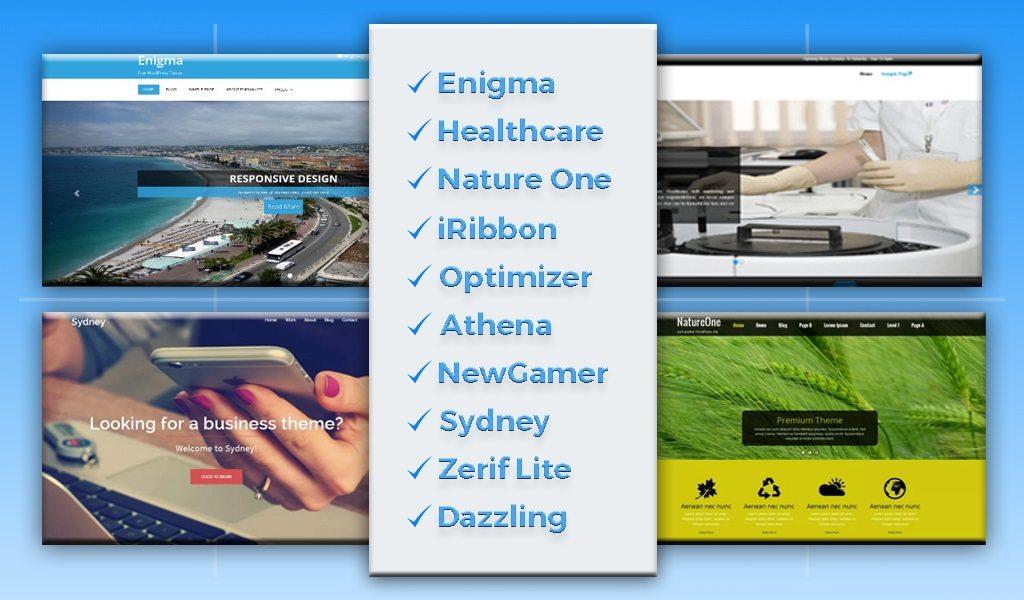 Top 10 Best Free WordPress Themes