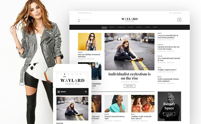 Top 12 Free and Premium WordPress Themes
