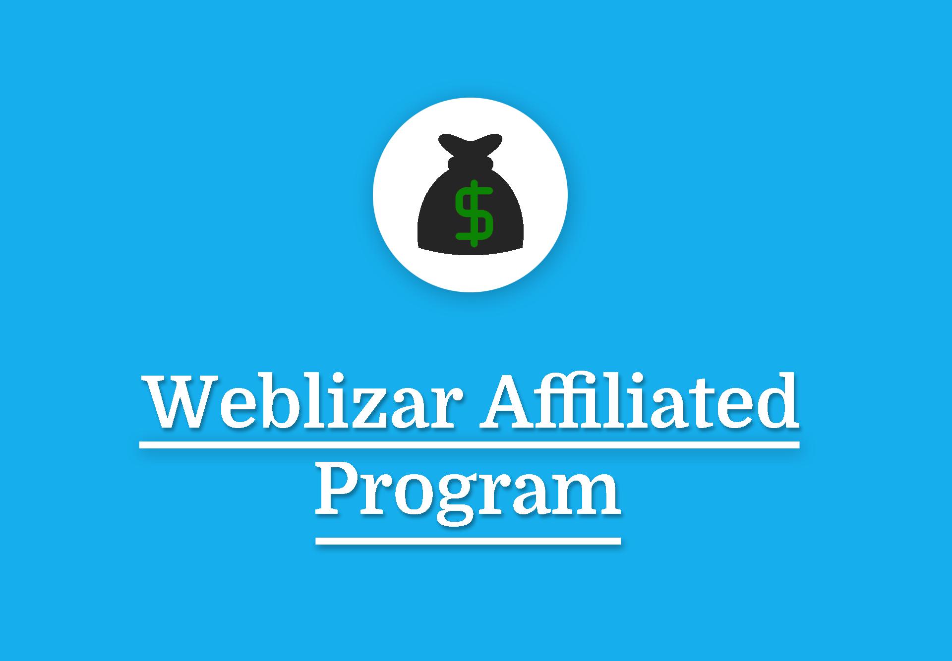Weblizar Affiliate Program
