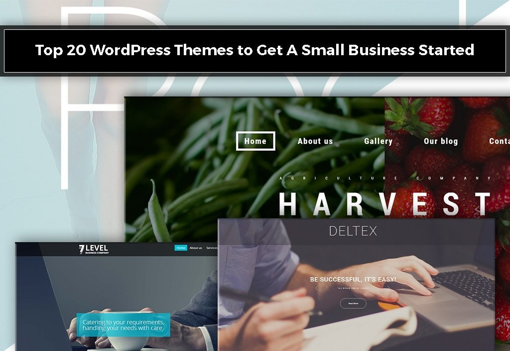 Top 20 WordPress Themes to Get A Small Business Started