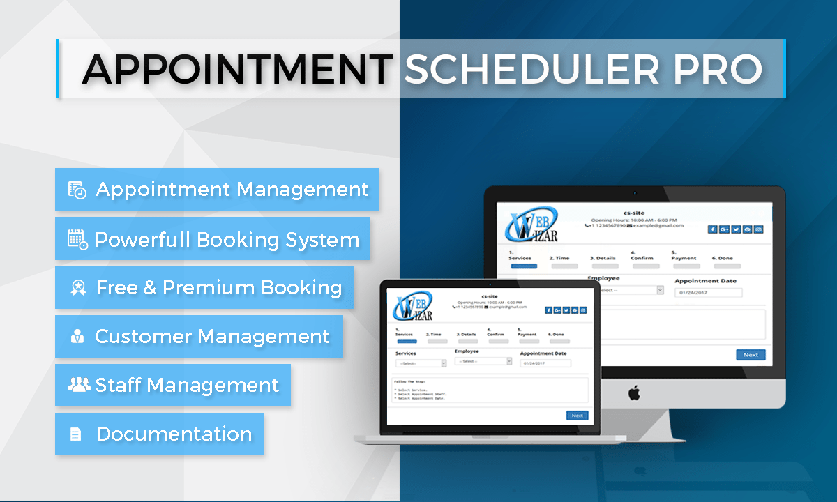 Appointment Scheduler Pro