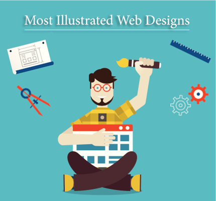 Top 10 Most Illustrated Web Designs