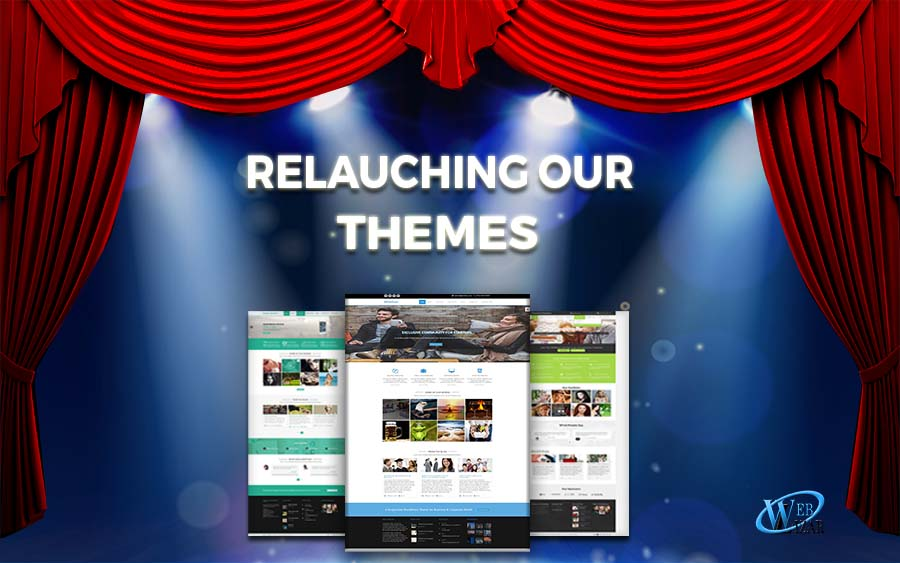 Relaunching WordPress Themes Weblizar, Green Lantern And Chronicle