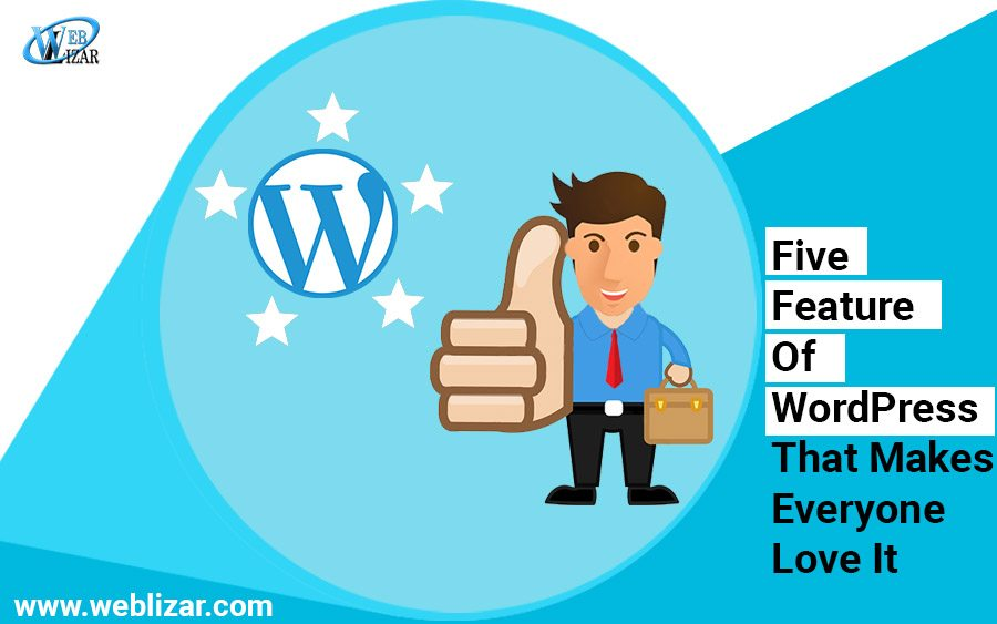 Five Features Of WordPress That Makes Everyone Love It