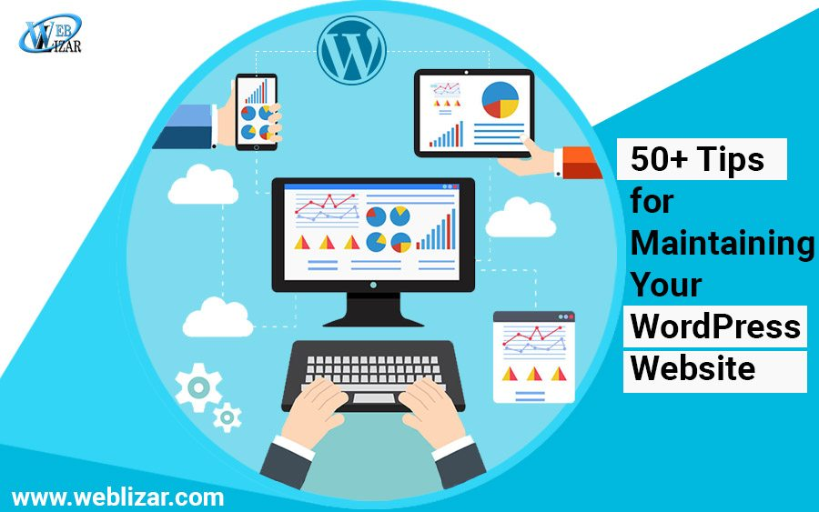 Top 50+ Tips for Maintaining Your WordPress Website [Infographic]