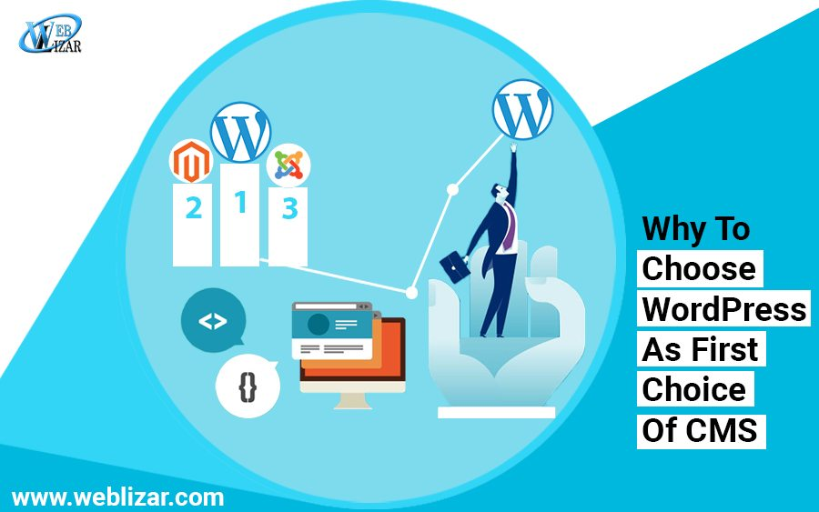 Why To Choose WordPress As First Choice Of CMS For Your New Website