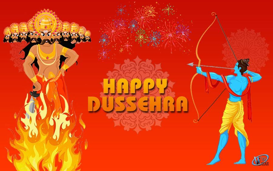 Happy DUSSEHRA To All You Lovely People From Weblizar