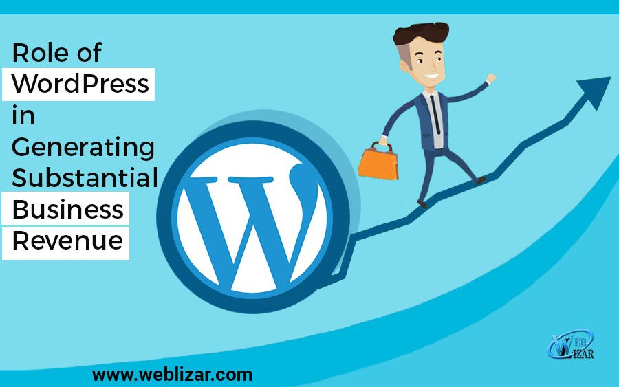 Role of WordPress in Generating Substantial Business Revenue