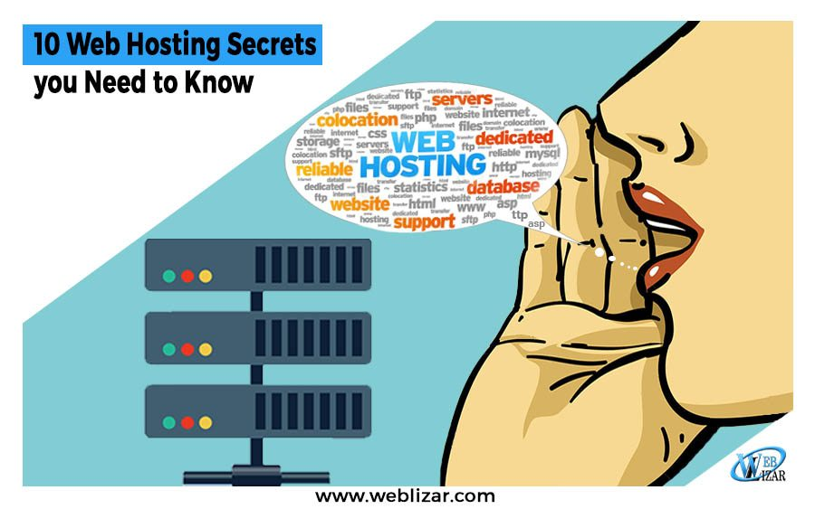 10 Web Hosting Secrets you Need to Know