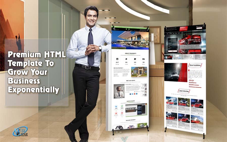 Premium HTML Templates To Grow Your Business Exponentially