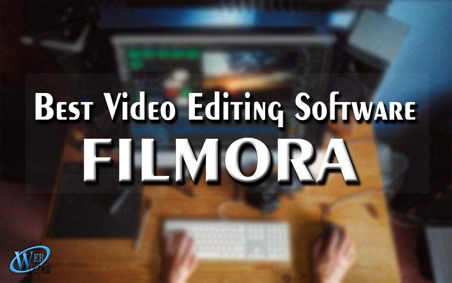 best video editing software filmora