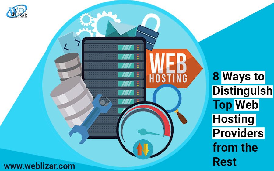 Distinguish Top Web Hosting Providers