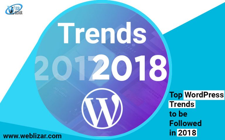 Top WordPress Trends to be Followed in 2018