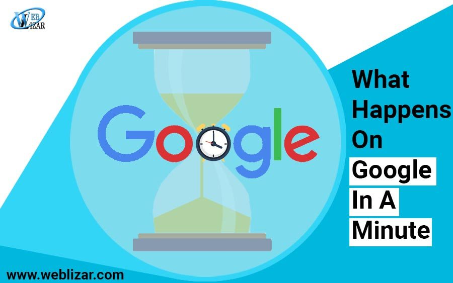 What Happens On Google In A Minute
