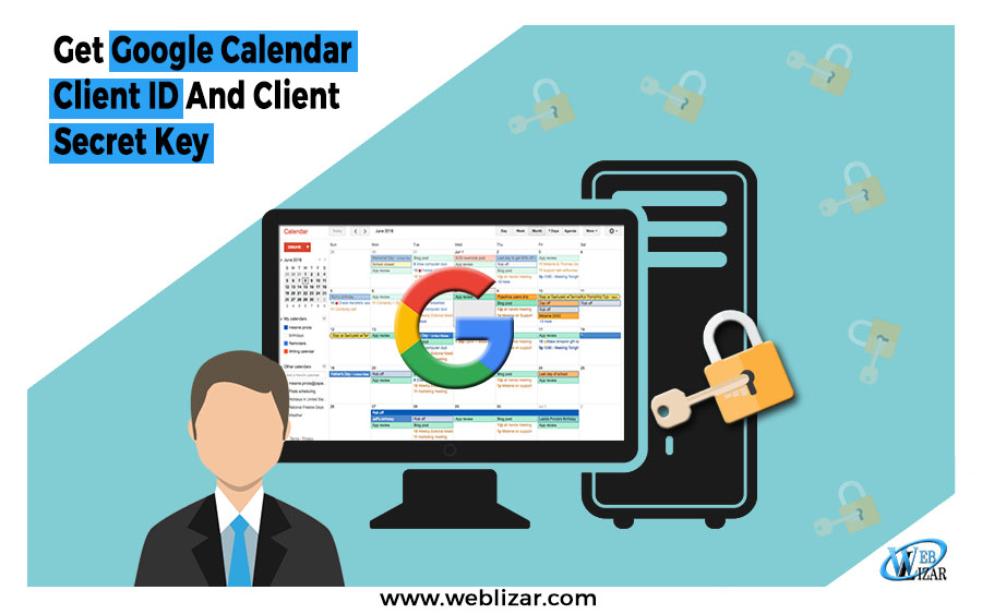 Get Google Calendar Client ID And Client Secret Key
