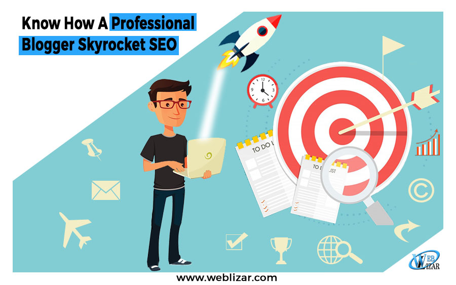 Know How A Professional Blogger Skyrocket SEO
