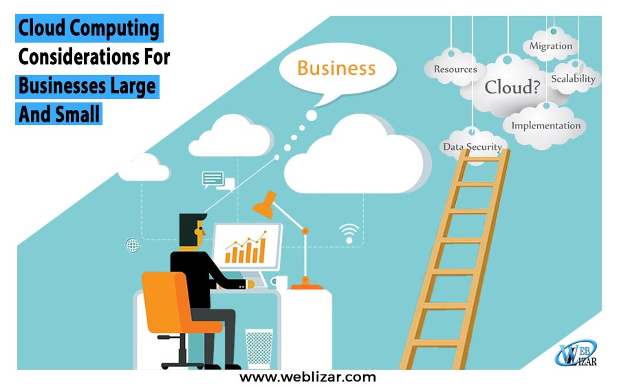 Cloud Computing Considerations For Businesses Large And Small