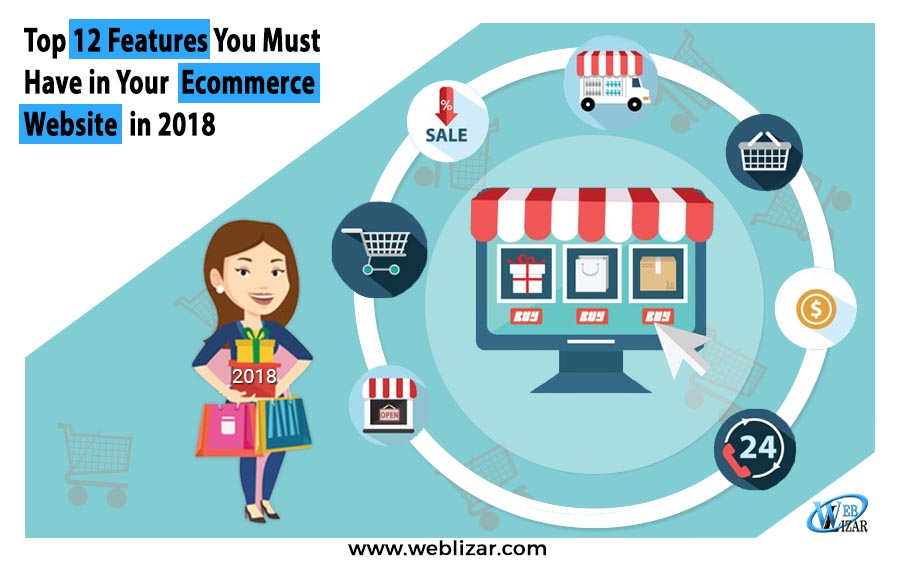 Top 12 Features You Must Have in Your Ecommerce Website in 2018