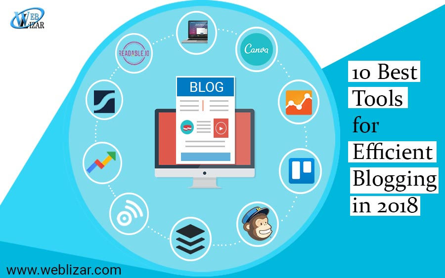 10 Best Tools for Efficient Blogging in 2018