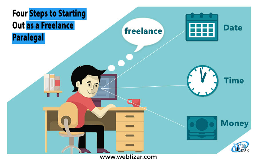 Four Steps to Starting Out as a Freelance Paralegal