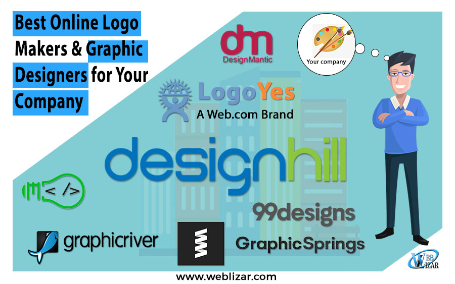 6 Best Online Logo Makers & Graphic Designers for Your Company