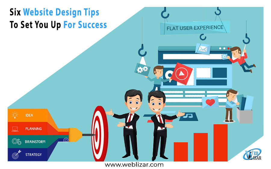 Six Website Design Tips To Set You Up For Success