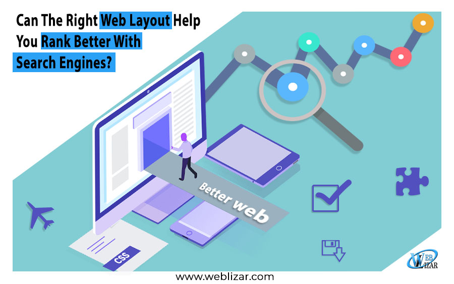 Right Web Layout Help Rank Better Search Engines