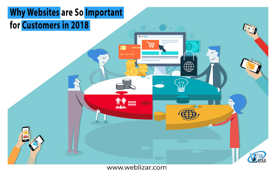 websites so important customers 2018