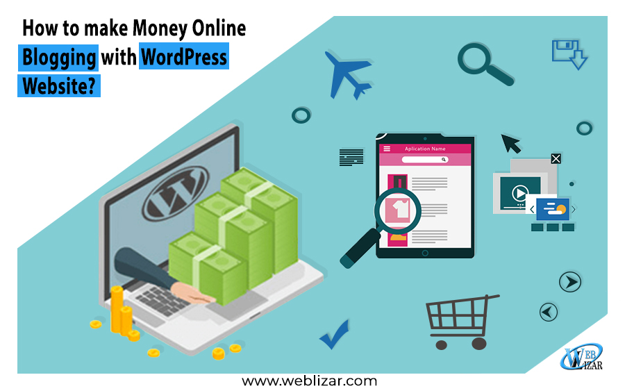 How to make Money Online Blogging with WordPress Website?