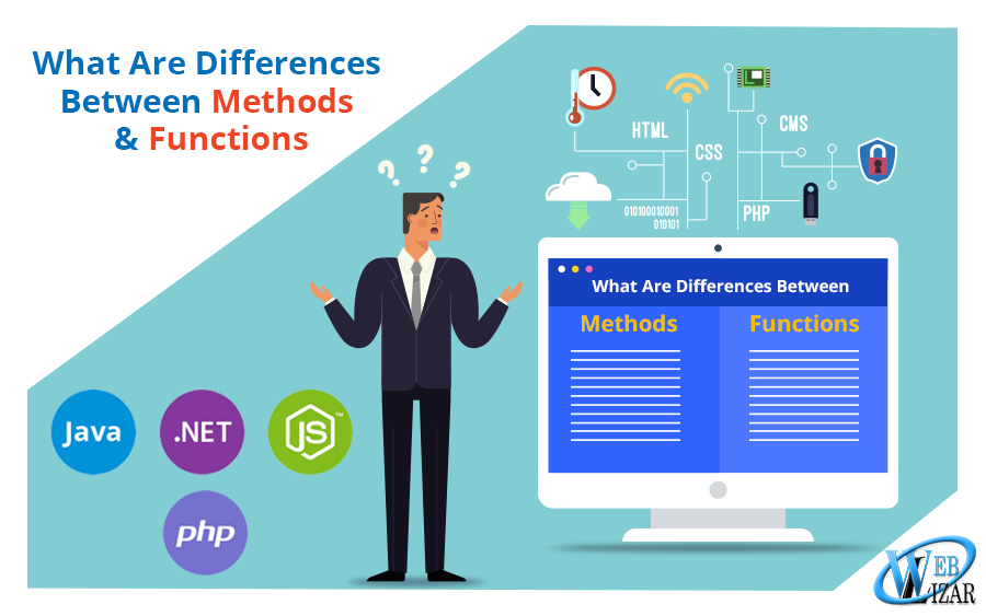 In Coding, What Are Differences Between Methods and Functions
