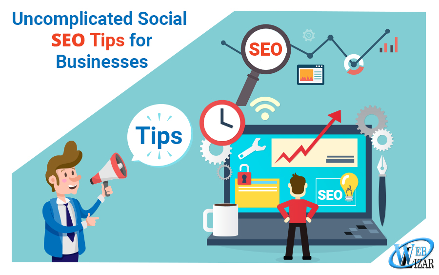 uncomplicated social SEO tips business