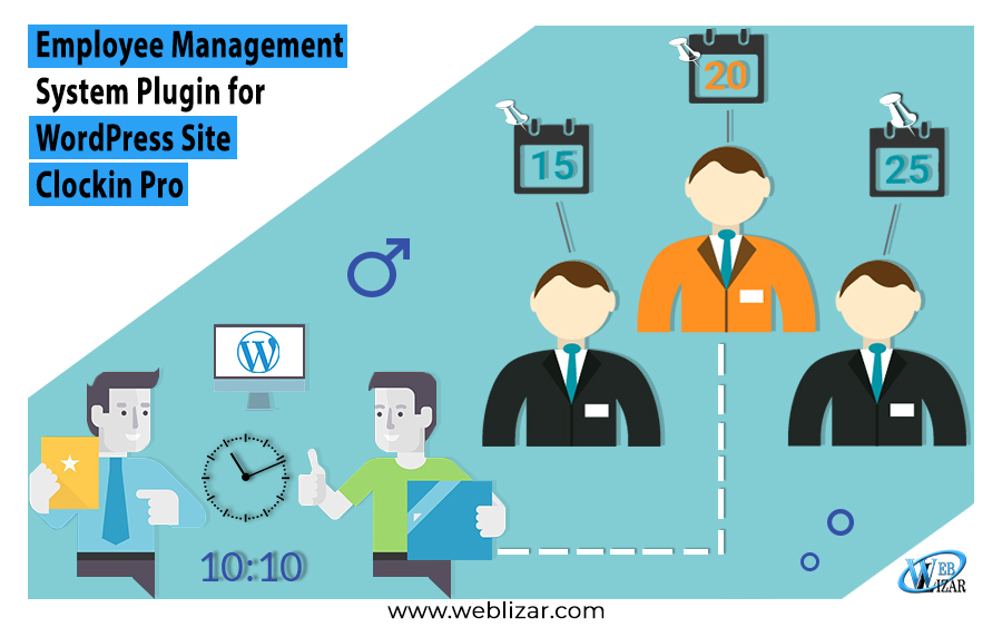 Employee Management System WordPress Plugin Clockin Pro