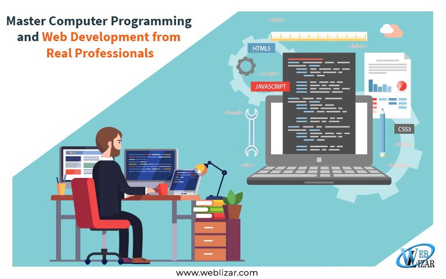 Master Computer Programming and Web Development from Real Professionals