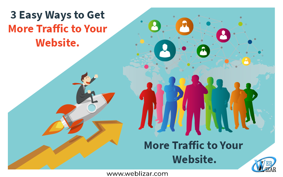 Easy ways get traffic website