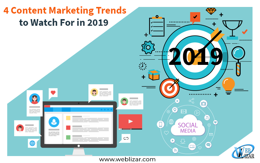 4 Content Marketing Trends to Watch For in 2019