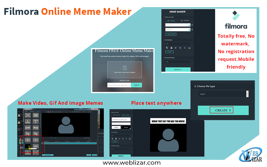Filmora Online Meme Maker-Fast and Free