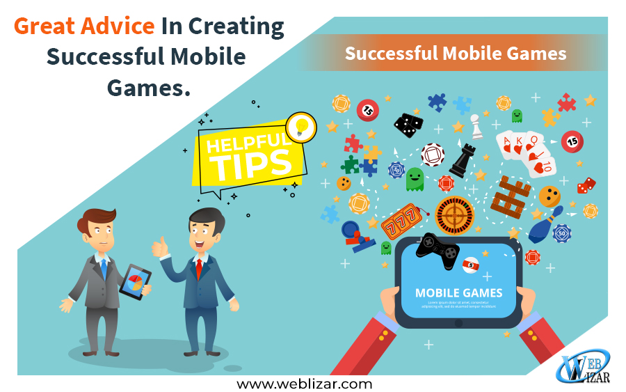 Great Advice In Creating Successful Mobile Games