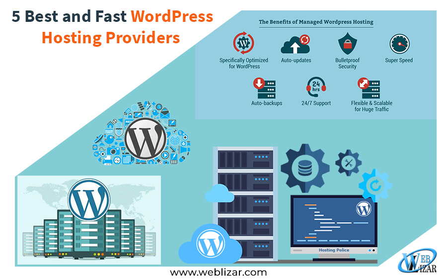 5 Best and Fast WordPress Hosting Providers