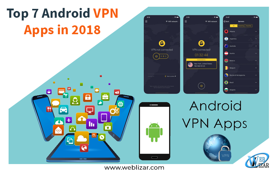 Top 7 Android VPN Apps in 2018