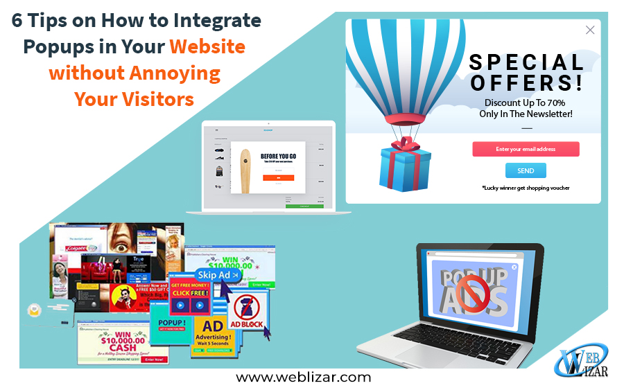 6 Tips on How to Integrate Popups in Your Website