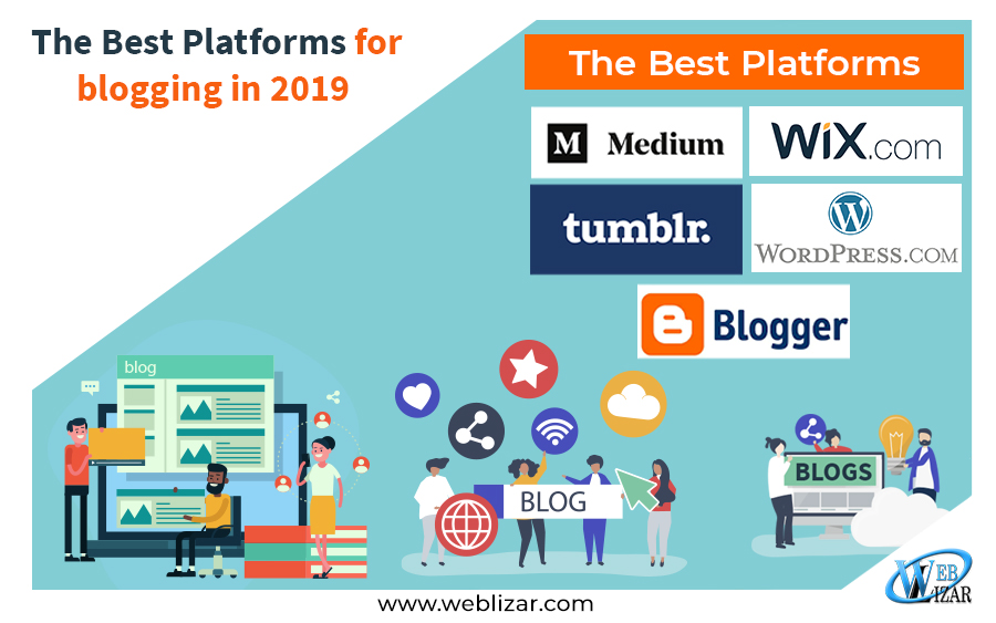 The Best Platforms for blogging in 2019