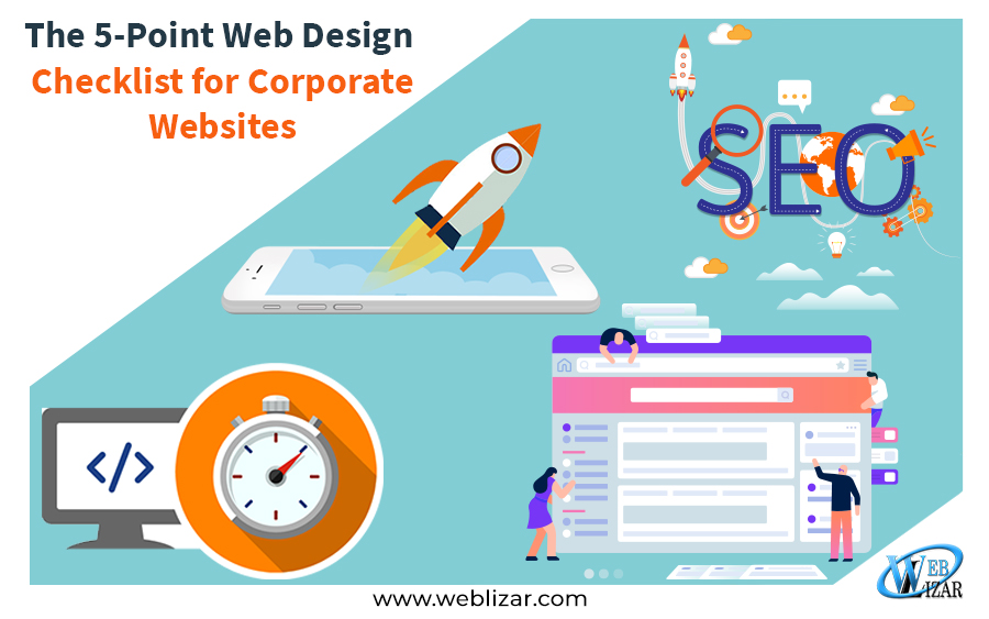 The 5-Point Web Design Checklist for Corporate Websites