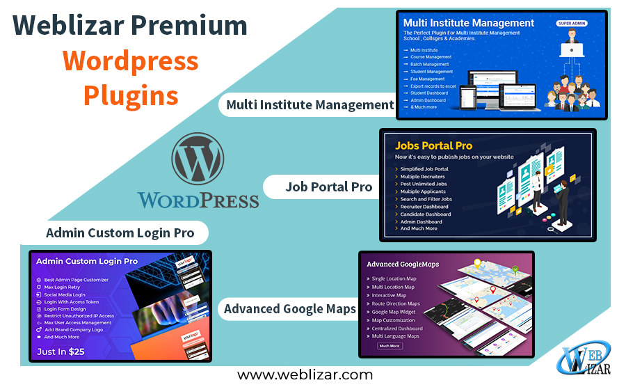 Weblizar Premium WordPress  Plugins