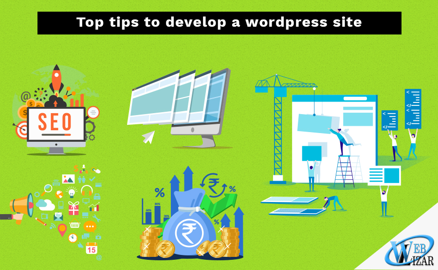 develop a wordpress site