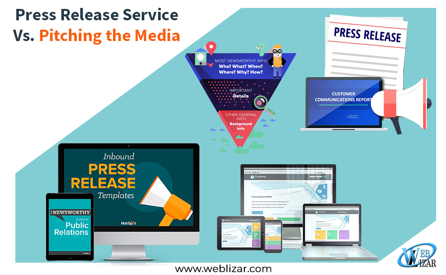 Press Release Service Vs. Pitching the Media