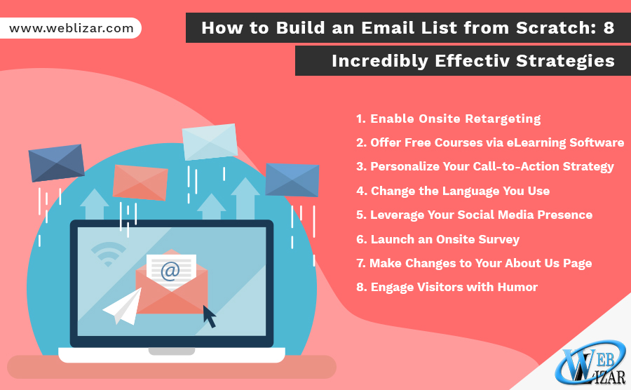 How to Build an Email List from Scratch: 8 Incredibly Effective Strategies